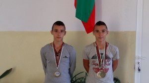 Виктор Тисов и Ивайло Тисов